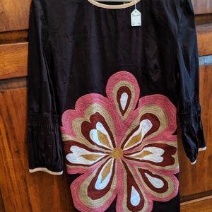 Almatrichi - Madrid Spain Flower Dress Size M NEW